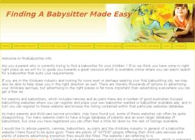 findbabysitter.info