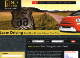 finddrivingschool.in