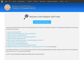 finder.tariffcommission.gov.ph