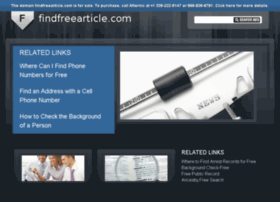 findfreearticle.com