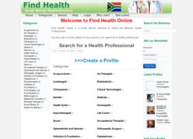 findhealth.co.za