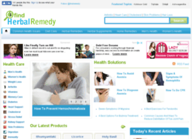 findherbalremedy.com