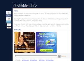 findhidden.info