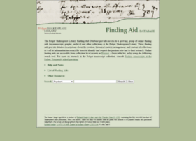findingaids.folger.edu