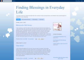 findingblessingsineverydaylife.blogspot.com