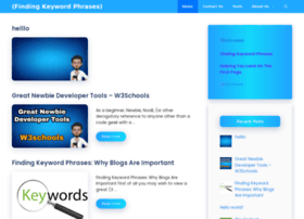 findingkeywordphrases.com