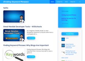findingkeywordphrases.com