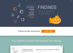 findingsapp.com