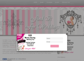 finditforweddings.com