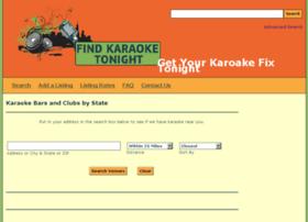 findkaraoketonight.com