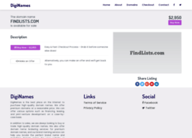 findlists.com