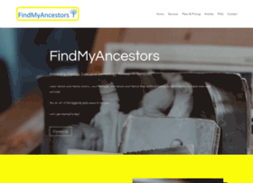 findmyancestors.info