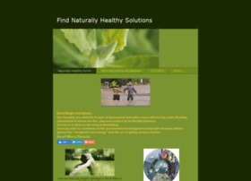 Findnaturallyhealthysolutions.weebly.com
