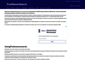 findownersearch.com