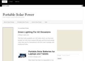 findportablesolarpower.com