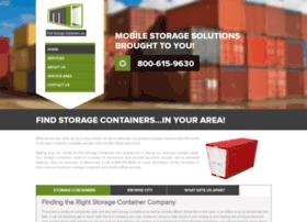 findstoragecontainers.com