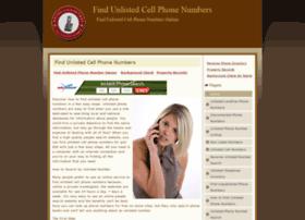 findunlistedcellphonenumbers.net
