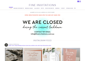 fineinvitations.com.au