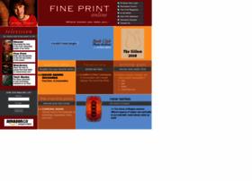 fineprintonline.com