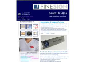 finesign.co.uk