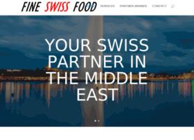 fineswissfood.com