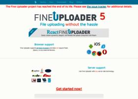 fineuploader.com