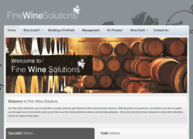 finewinesolutions.com