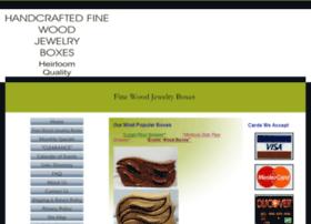 finewoodjewelryboxes.com