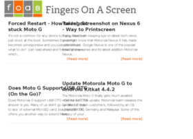 fingersonascreen.com