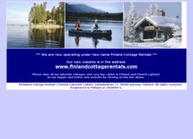 finnishlakesidecabins.com