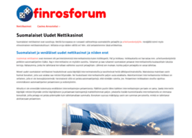 finrosforum.fi