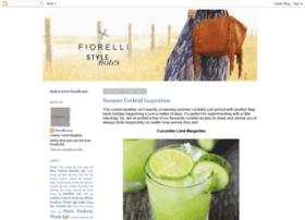 fiorellisstylenotes.blogspot.com