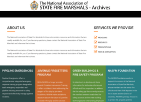 firemarshalsarchives.org