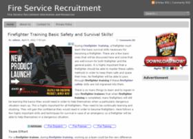 fireservicerecruitment.org