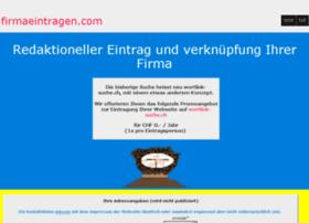 firmaeintragen.ch