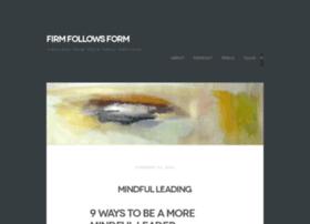 firmfollowsform.com