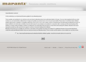 firmware.marantz.eu