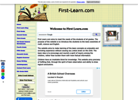 first-learn.com