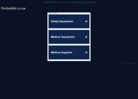 firstaidkit.co.za
