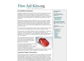 firstaidkits.org