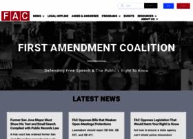 firstamendmentcoalition.org