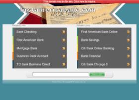 firstamericabanc.com