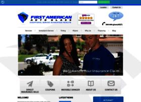 firstamericanautoglass.com