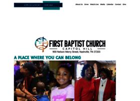 firstbaptistcapitolhill.org