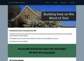 firstbaptistwellington.org