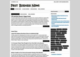 firstbusinessnews.net