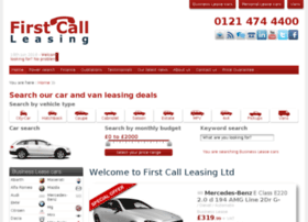 firstcall-leasing.co.uk