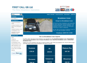 firstcallmotorbreakdown.co.uk