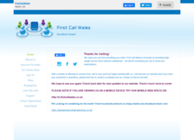 firstcallwales.co.uk