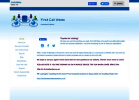 firstcallwales.co.uk